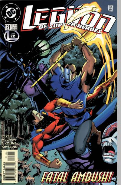Legion of Super-Heroes Vol 4 121