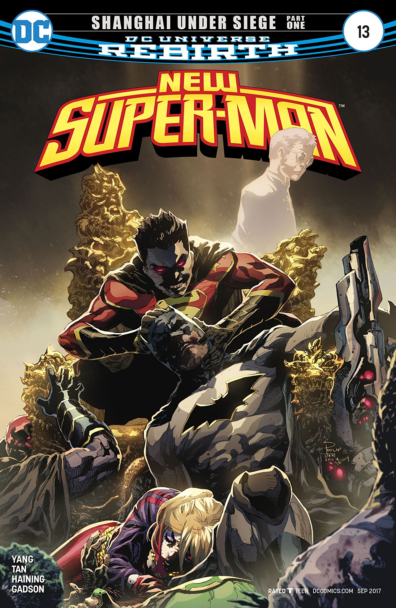New Super-Man Vol 1 13