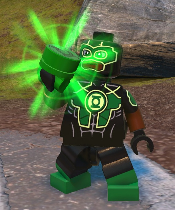 Simon Baz (Lego Batman)
