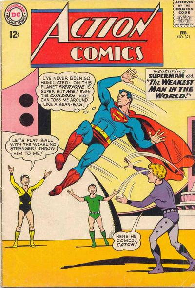 Action Comics Vol 1 321
