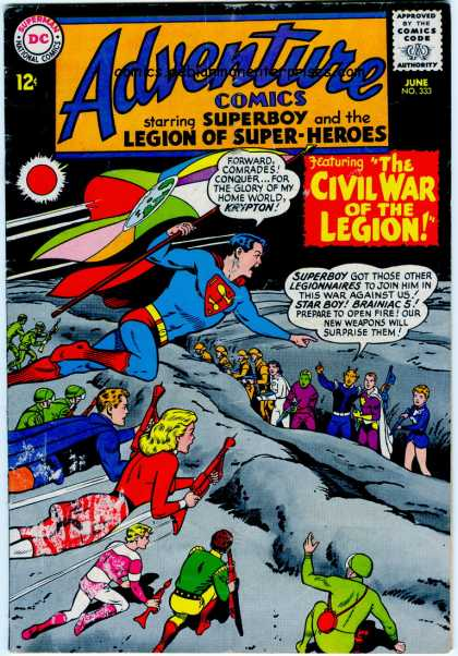 Adventure Comics Vol 1 333