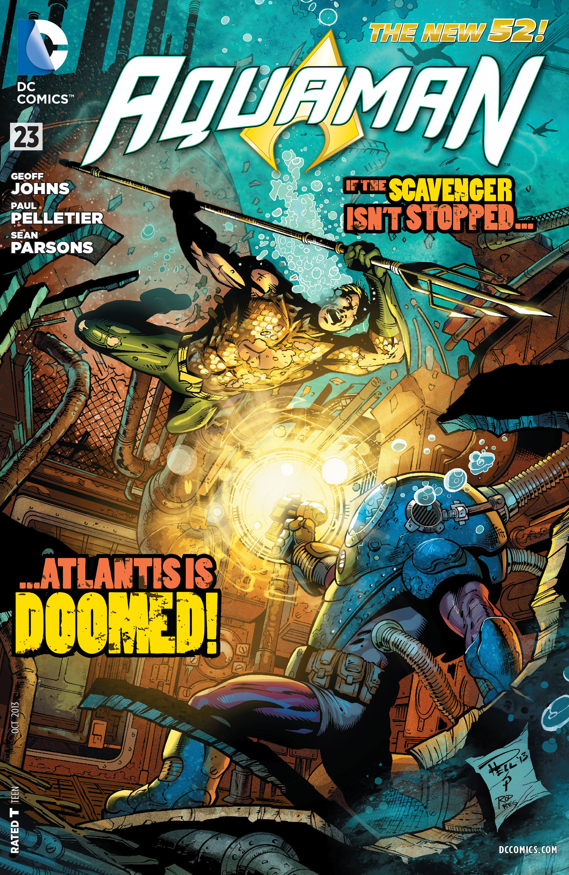 Aquaman Vol 7 23