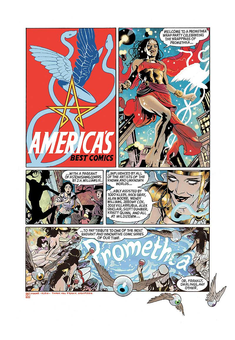 Promethea Covers Special