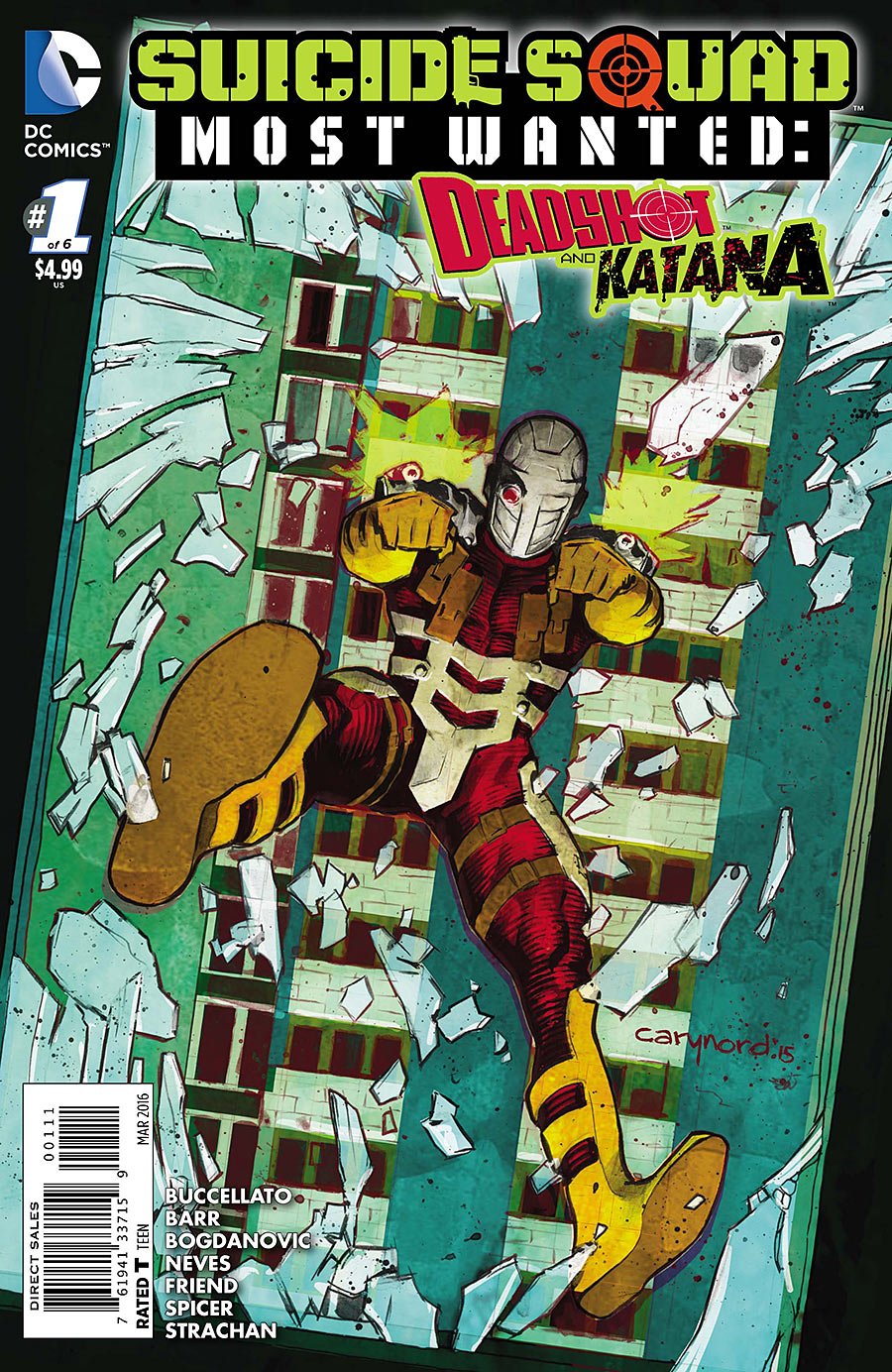 Suicide Squad Most Wanted: Deadshot and Katana Vol 1 1