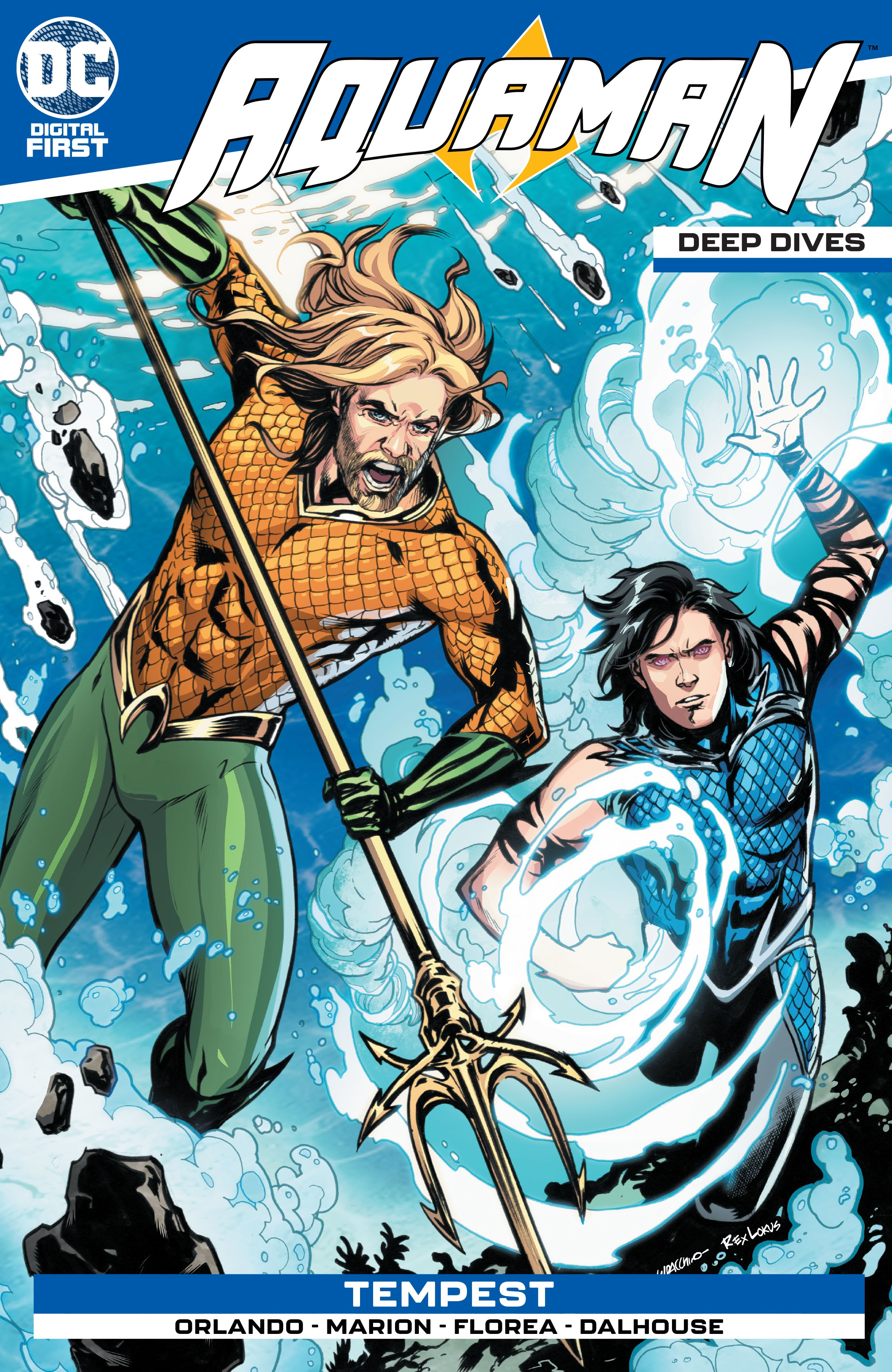 Aquaman: Deep Dives Vol 1 3 (Digital)