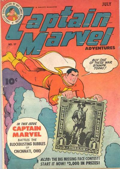 Captain Marvel Adventures Vol 1 37