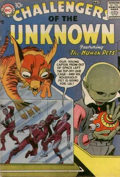 Challengers of the Unknown Vol 1 1