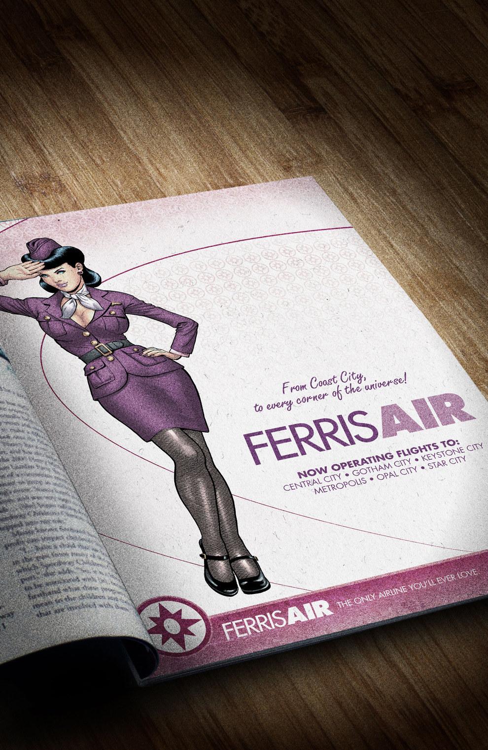 Carol Ferris (DC Bombshells)