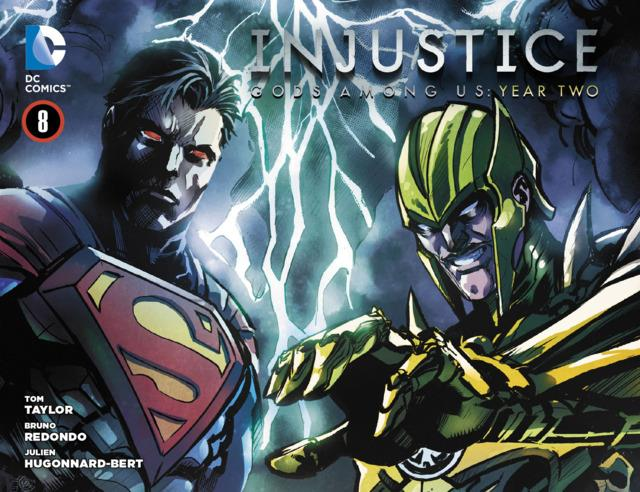 Injustice: Gods Among Us: Year Two Vol 1 8 (Digital)
