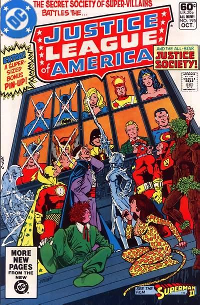 Justice League of America Vol 1 195