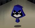 Raven New Teen Titans Shorts 001