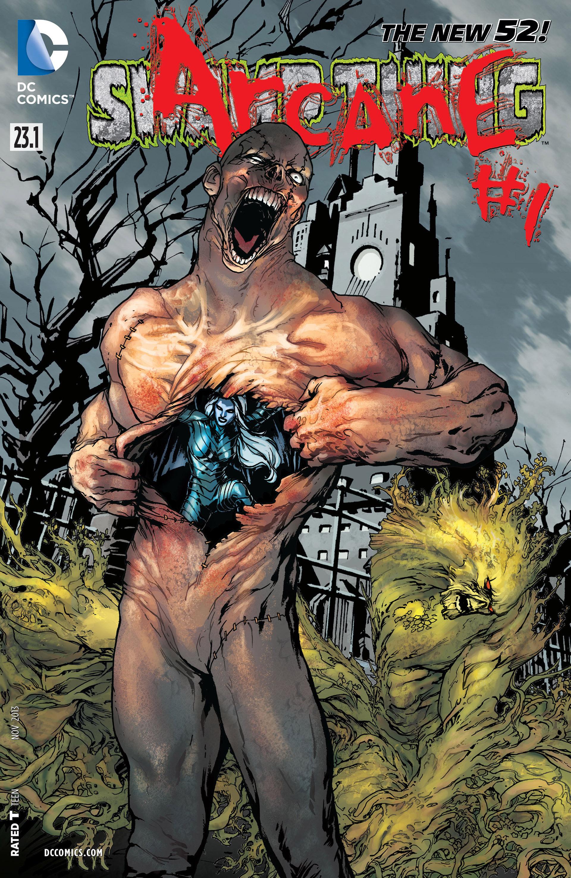 Swamp Thing Vol 5 23.1: Arcane