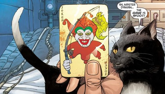 Alfred the Cat (Batman in Bethlehem)