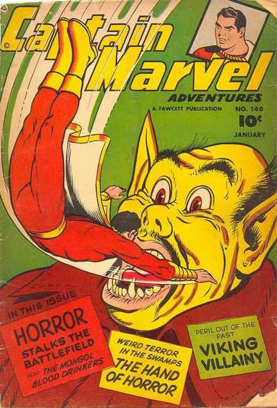Captain Marvel Adventures Vol 1 140