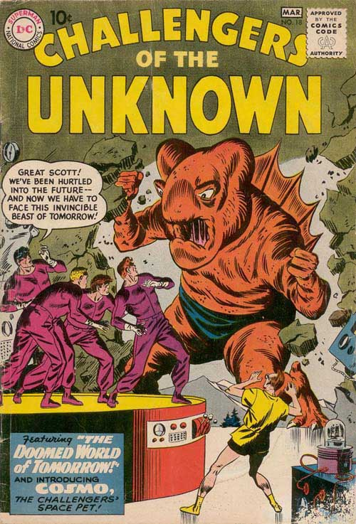 Challengers of the Unknown Vol 1 18