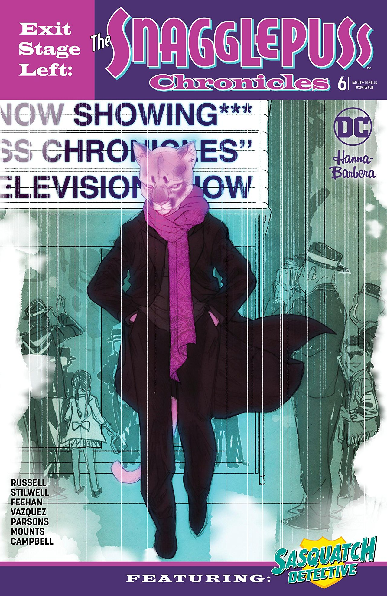 Exit Stage Left: The Snagglepuss Chronicles Vol 1 6