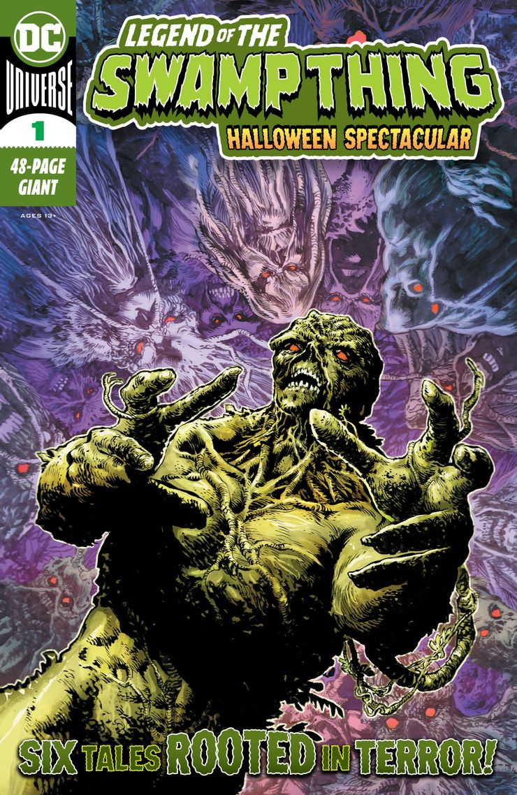 Legend of the Swamp Thing: Halloween Spectacular Vol 1 1