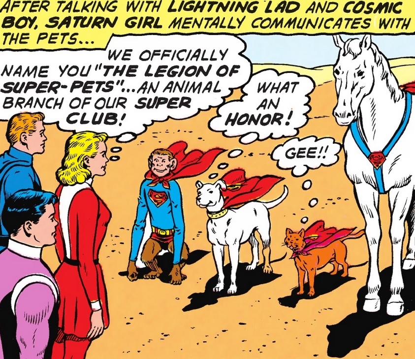 Legion of Super-Pets (Earth-One)