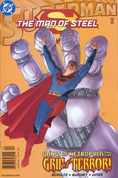 Superman: The Man of Steel Vol 1 123