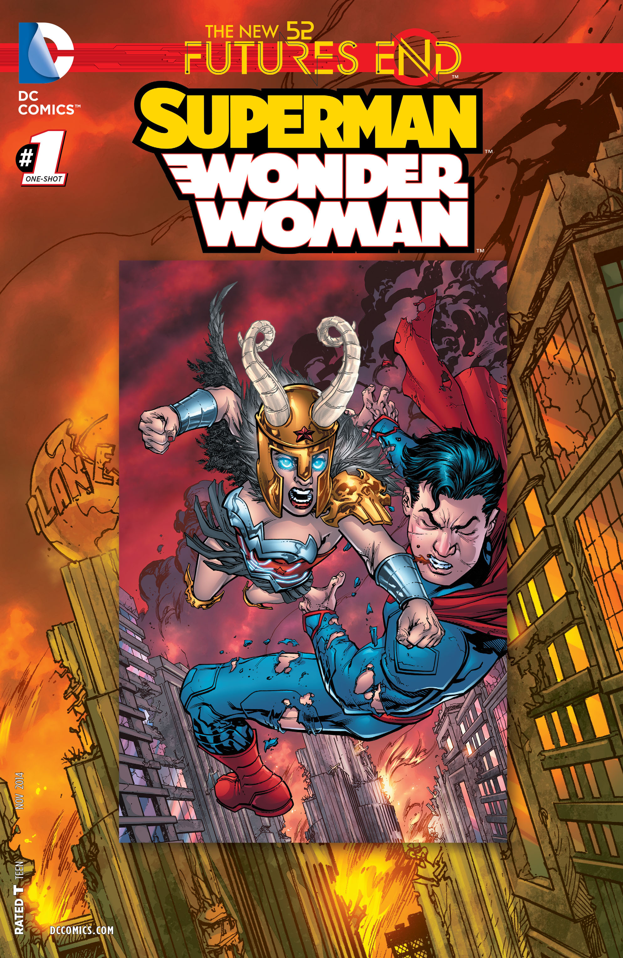 Superman/Wonder Woman: Futures End Vol 1 1