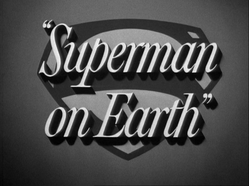 Adventures of Superman (TV Series) Episode: Superman on Earth