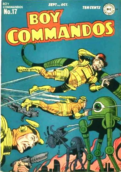 Boy Commandos Vol 1 17