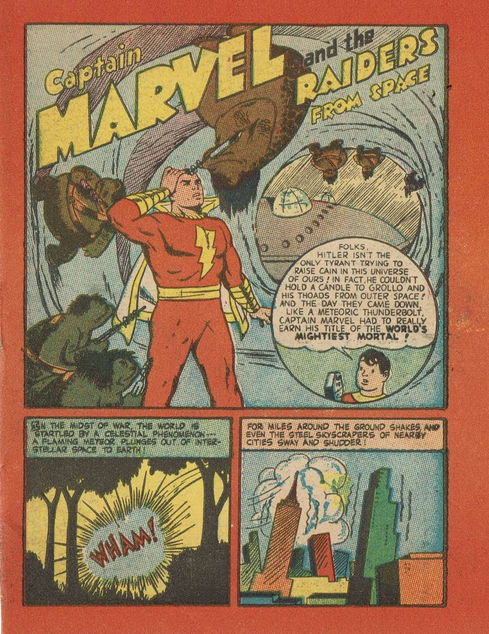Captain Marvel and the Raiders from Space