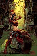 Diana of Themiscyra Gotham City Garage 001