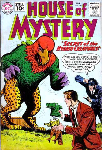 House of Mystery Vol 1 109