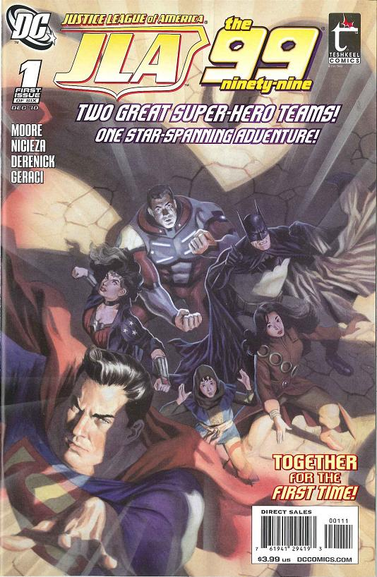 Justice League of America/The 99 Vol 1 1