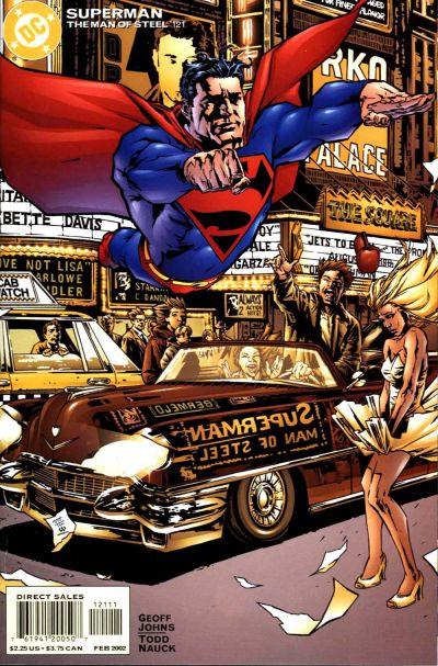 Superman: The Man of Steel Vol 1 121