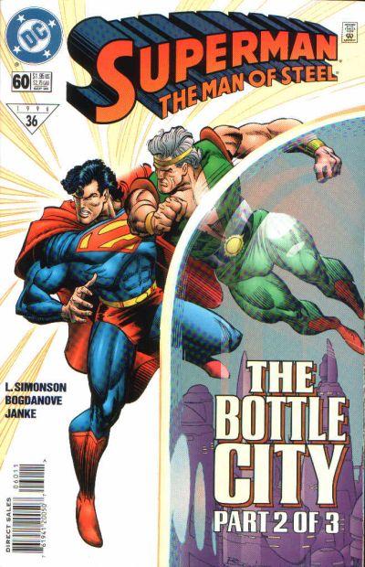 Superman: The Man of Steel Vol 1 60