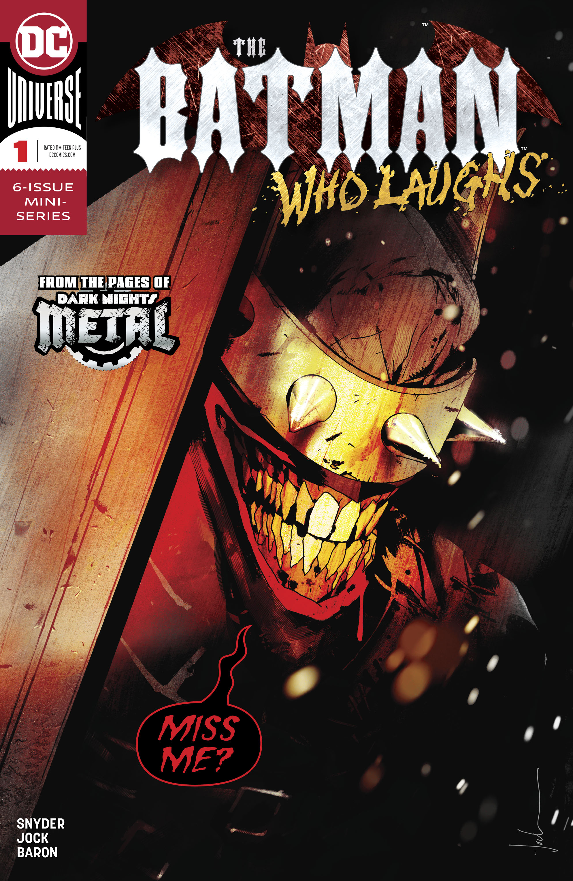 The Batman Who Laughs Vol 2 1