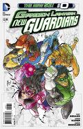 Green Lantern New Guardians Vol 1 0