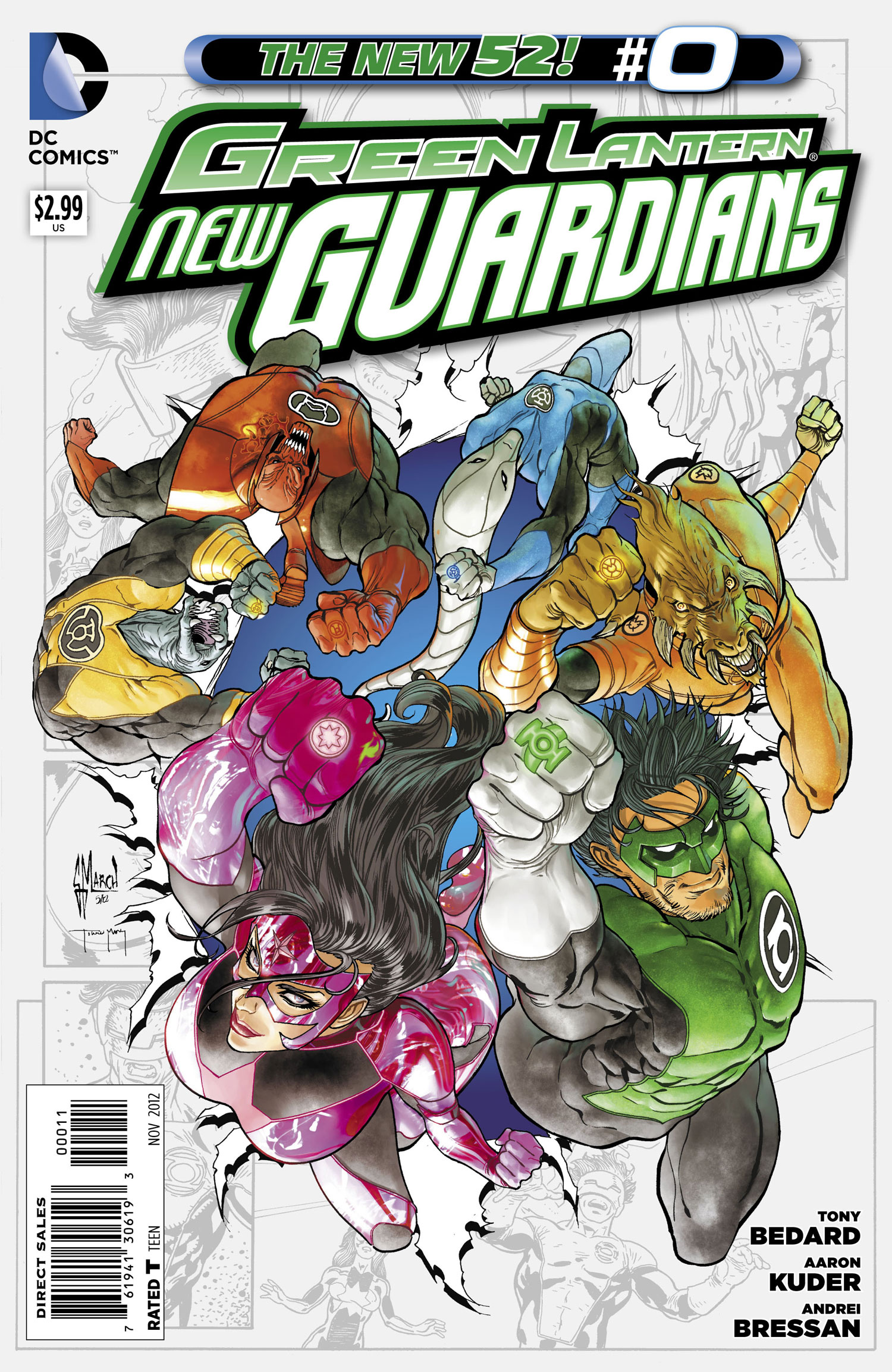 Green Lantern: New Guardians Vol 1 0