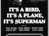 It's a Bird...It's a Plane...It's Superman