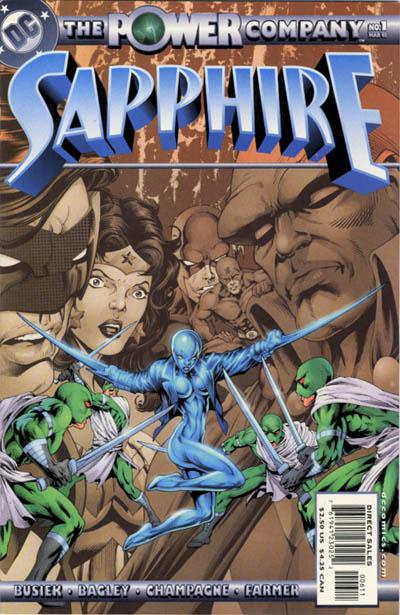 The Power Company: Sapphire Vol 1 1