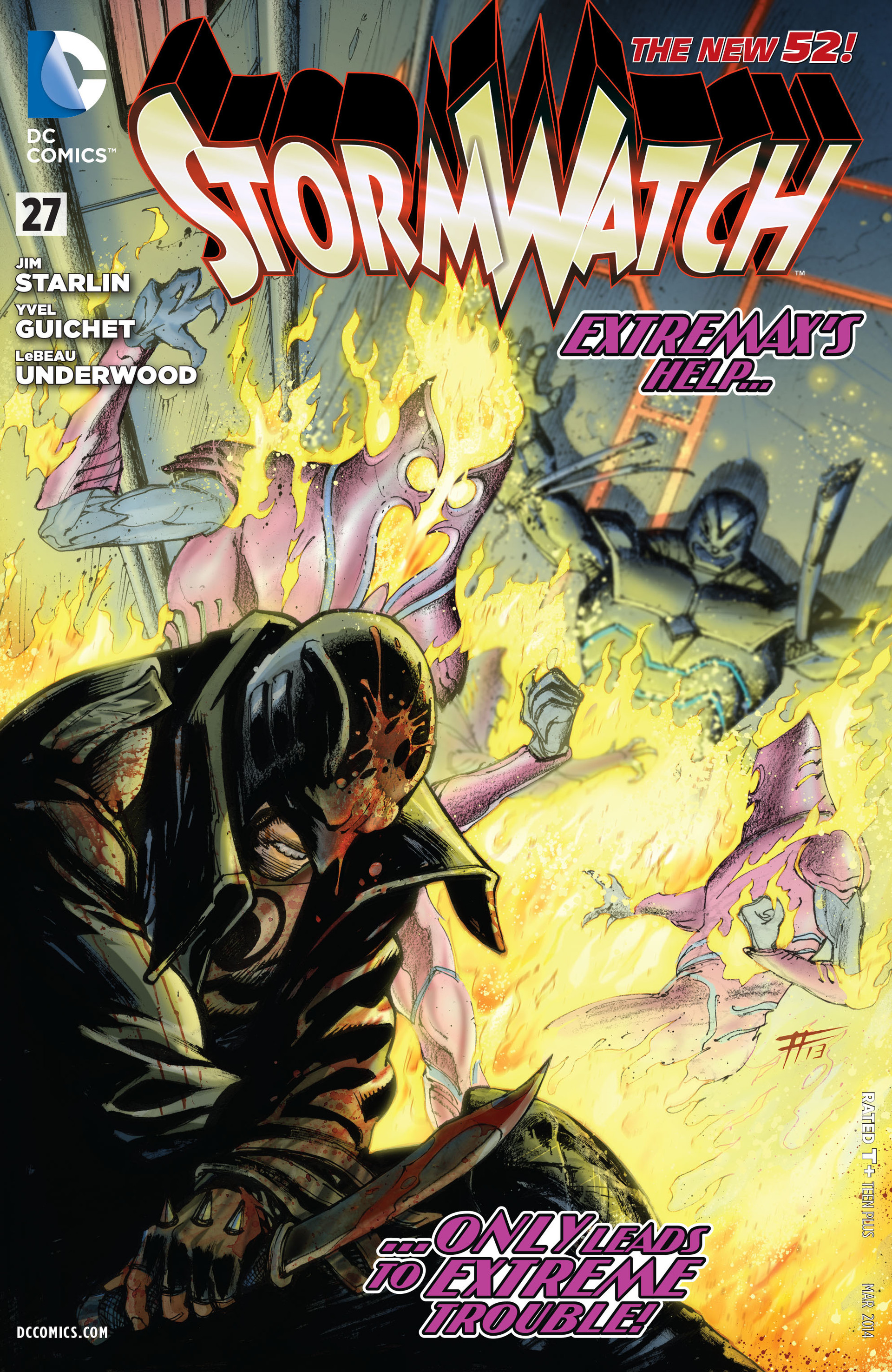 Stormwatch Vol 3 27