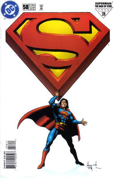 Superman: The Man of Steel Vol 1 58