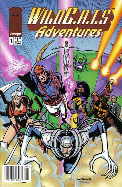 WildC.A.T.s Adventures Vol 1 1