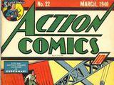 Action Comics Vol 1 22