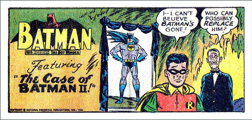 The Case of Batman II!