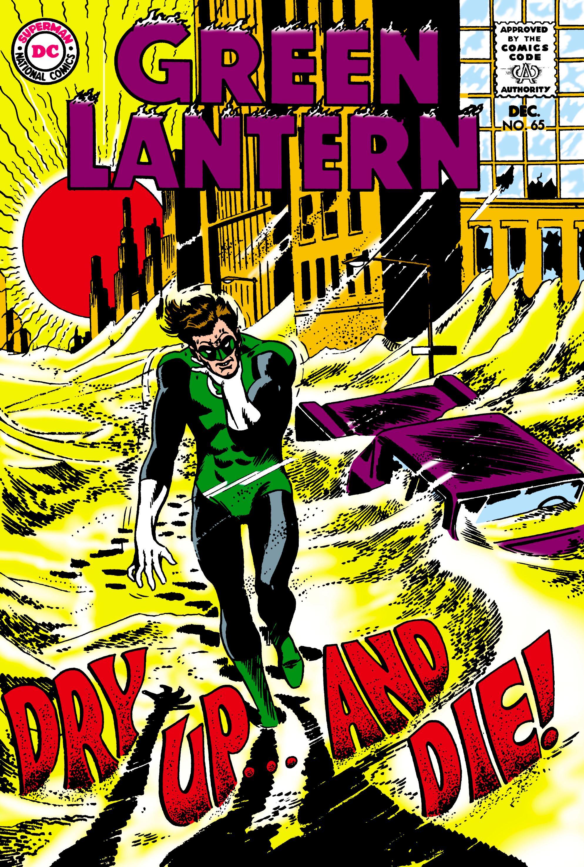 D.C Green Lantern 65 ct. Comics Justice League Deck Protectors