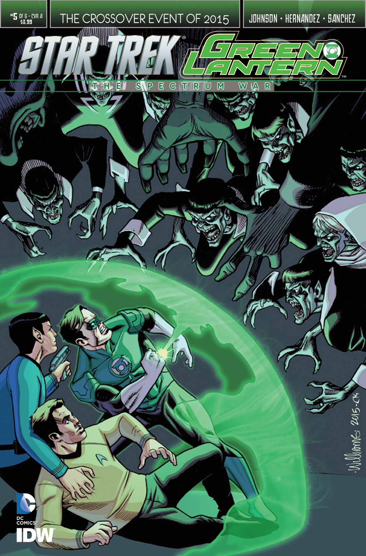 Star Trek/Green Lantern: The Spectrum War Vol 1 5