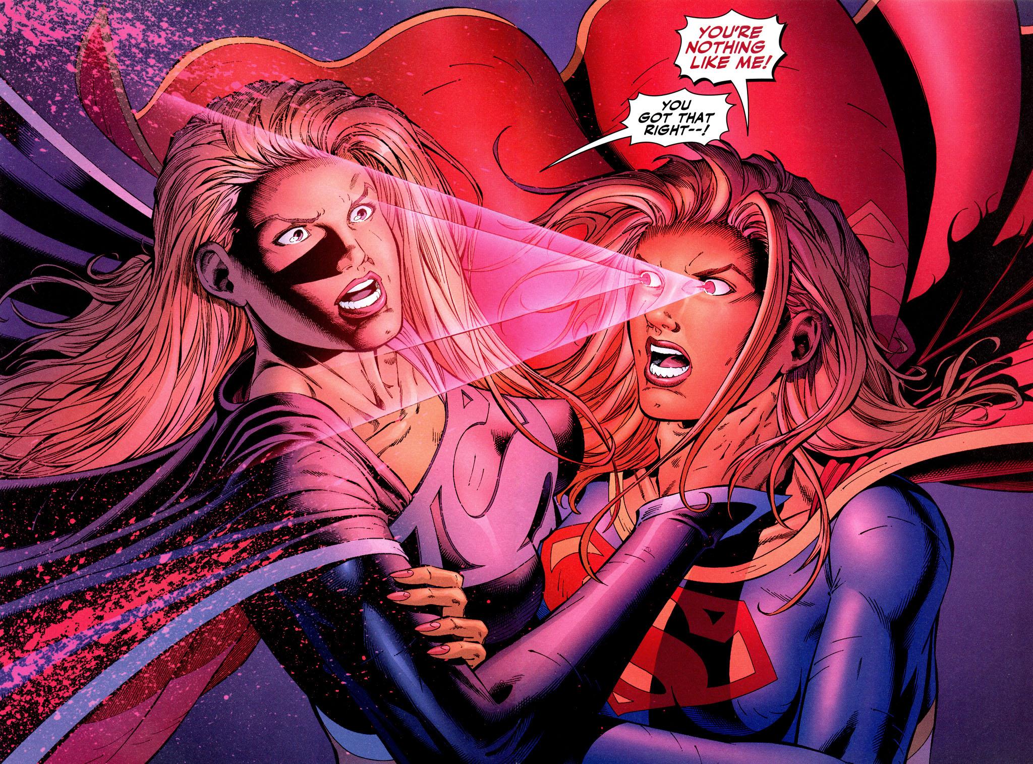 Supergirl and Evil Doppelganger 001.jpg