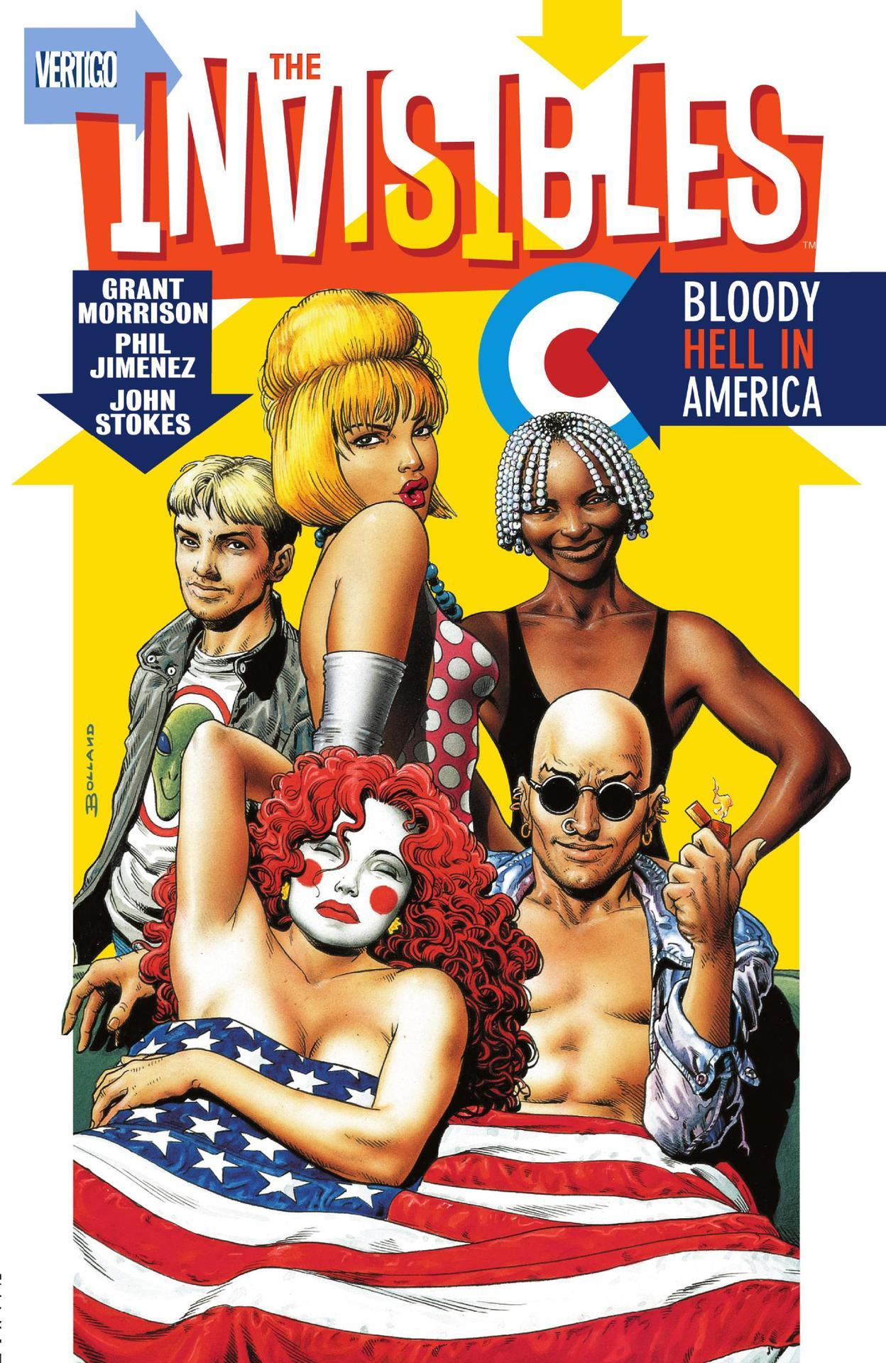 The Invisibles Volume 04: Bloody Hell in America (Collected)