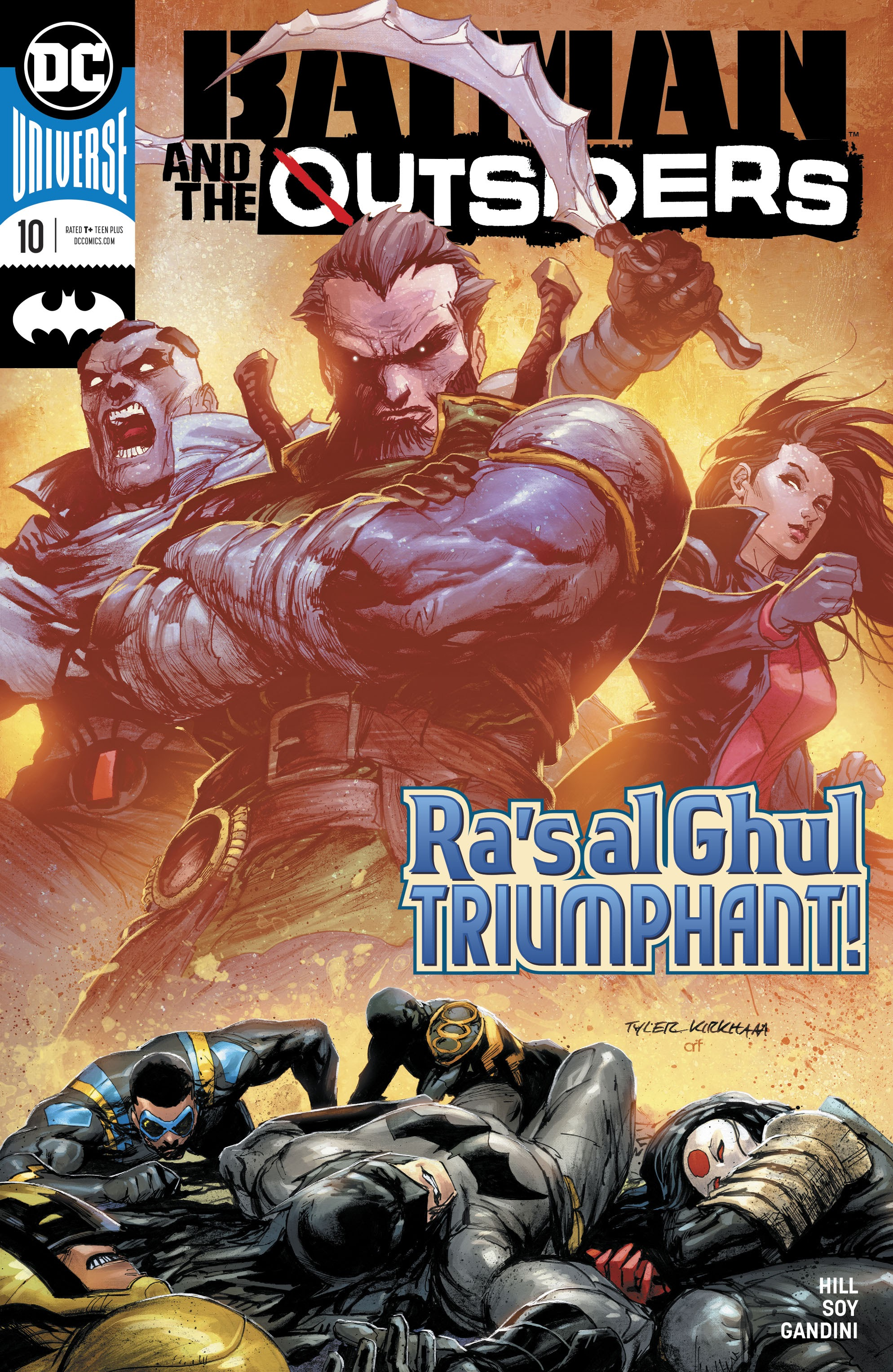Batman and the Outsiders Vol 3 10