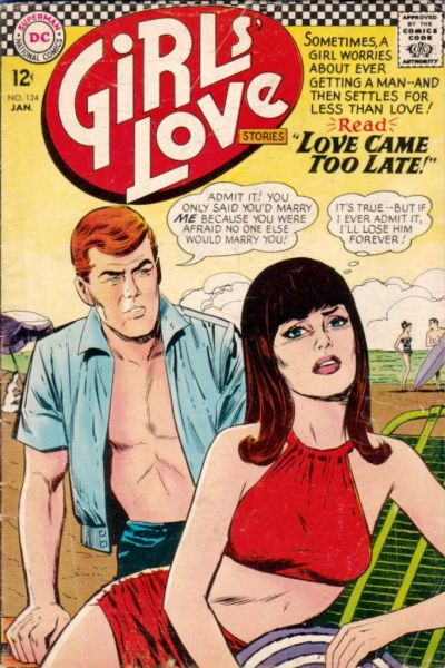 Girls' Love Stories Vol 1 124