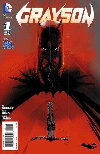 Batman 75th Anniversary Variant