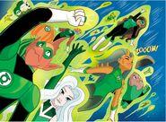 Green Lantern Corps DC Super Hero Girls 001